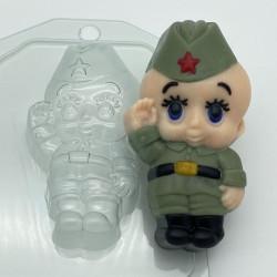 Форма ПВХ Малыш-солдат