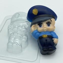 Форма ПВХ Малыш Полицейский