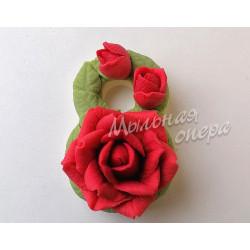 Форма 3D Восьмерка с розами