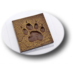 Форма для шоколада Отпечаток тигра