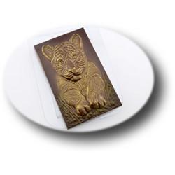 Форма для шоколада Тигр на траве