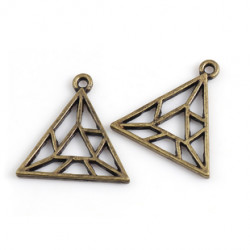 Подвеска для эпоксидной смолы Треугольник геометрия