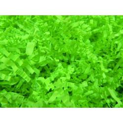 Соломка бумажная гофро Светло-зеленая