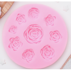 Молд силиконовый Круговорот роз