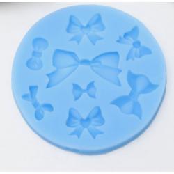 Молд силиконовый Бантики разные