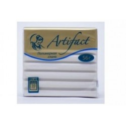 Полимерная глина Artifact перламутр белый