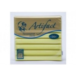 Полимерная глина Artifact перламутр жёлтый