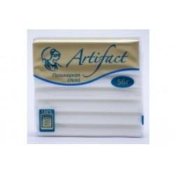 Полимерная глина Artifact неон белый