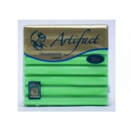Полимерная глина Artifact неон зелёный