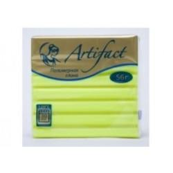 Полимерная глина Artifact неон лимонный