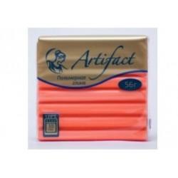 Полимерная глина Artifact неон оранжевый