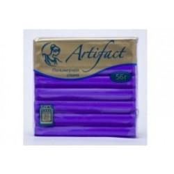 Полимерная глина Artifact неон фиолетовый