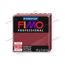 Полимерная глина Fimo professional бордо