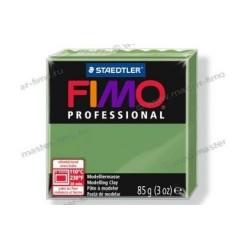 Полимерная глина Fimo professional зелёный лист