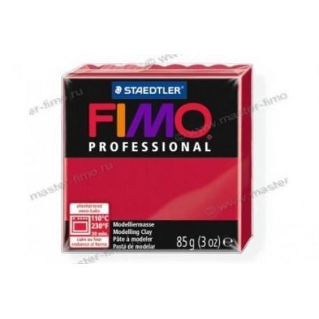 Полимерная глина Fimo professional кармин