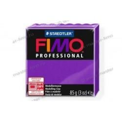 Полимерная глина Fimo professional лиловая