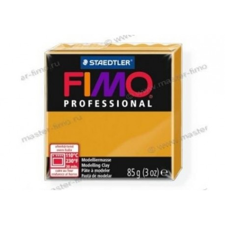 Полимерная глина Fimo professional охра
