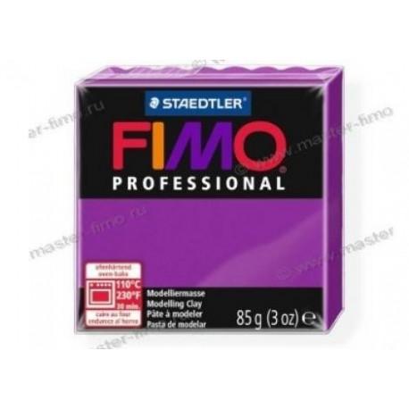 Полимерная глина Fimo professional фиолетовый