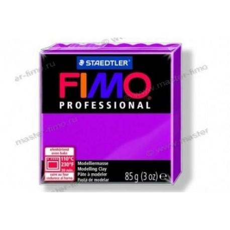 Полимерная глина Fimo professional чисто-пурпурный