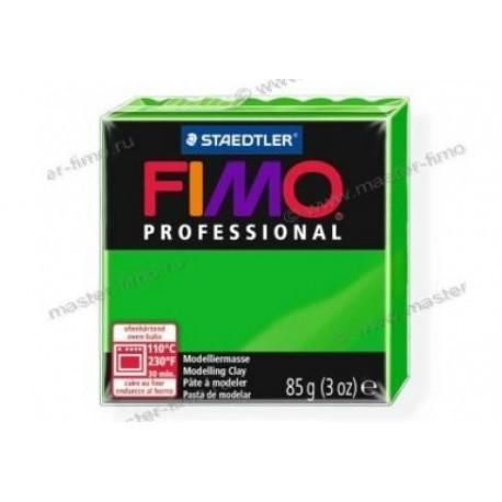 Полимерная глина Fimo professional ярко-зелёный
