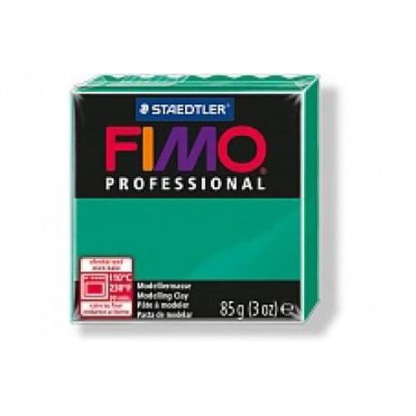 Полимерная глина Fimo professional зеленая