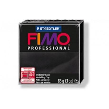 Полимерная глина Fimo professional черная