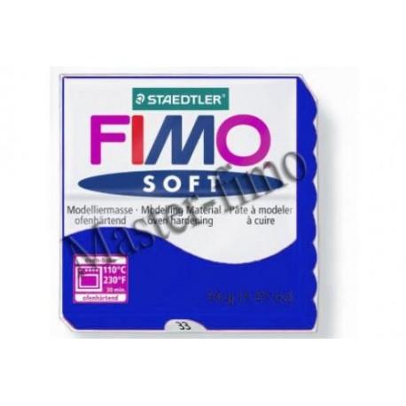Полимерная глина Fimo блестящая синяя