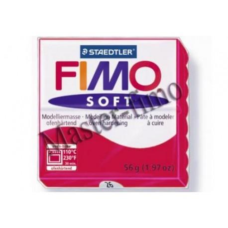 Полимерная глина Fimo soft вишнёвая
