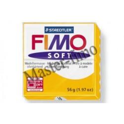 Полимерная глина Fimo soft жёлтая
