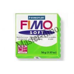 Полимерная глина Fimo soft зелёное яблоко