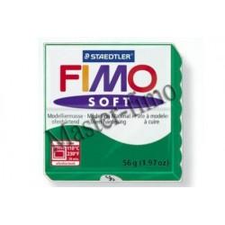 Полимерная глина Fimo soft изумруд