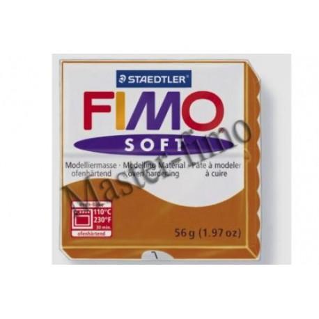 Полимерная глина Fimo soft карамель