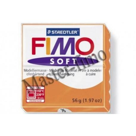 Полимерная глина Fimo soft коньяк