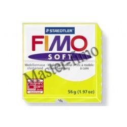 Полимерная глина Fimo soft лимонная