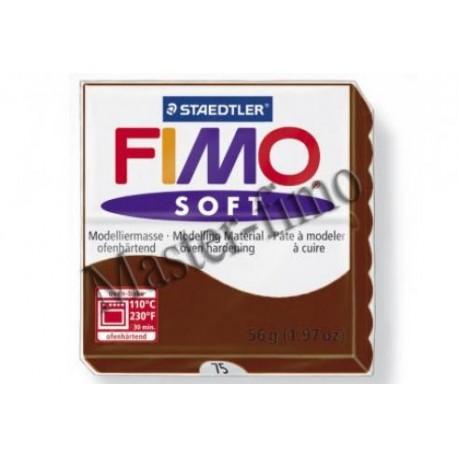 Полимерная глина Fimo soft шоколад