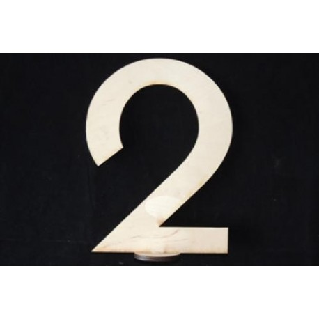Заготовка для декупажа Цифра 1 на подставке