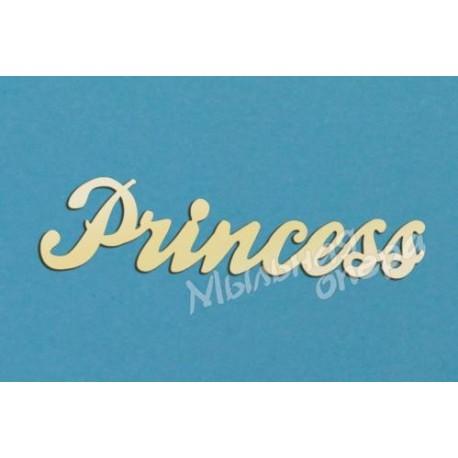 Заготовка для декупажа Надпись Princess 1