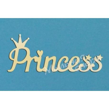 Заготовка для декупажа Надпись Princess 2
