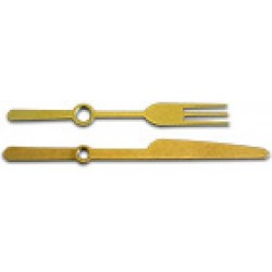 Стрелки для часов 58 и 72 мм, золото
