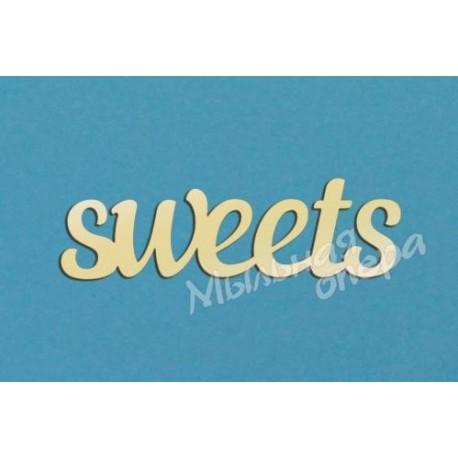 Заготовка для декупажа Надпись sweets