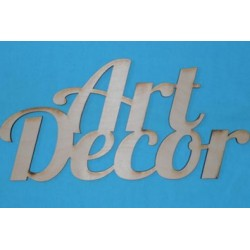Заготовка для декупажа Надпись Art Decor