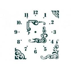Трафарет Циферблат часов 1, 26х30 см