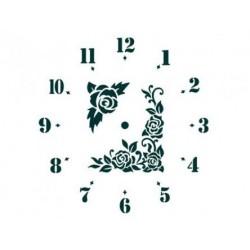 Трафарет Циферблат часов 2, размеры 24х30 см