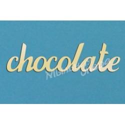 Заготовка для декупажа Надпись Chocolate