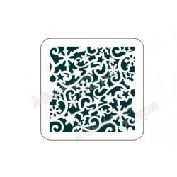 Трафарет Снежинки 4, размеры 15х15 см
