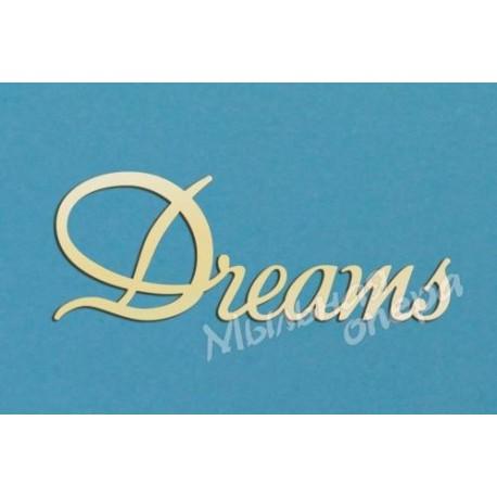 Заготовка для декупажа Надпись Dreams 2