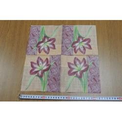 Салфетка FL021 Красная лилия