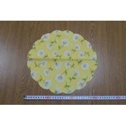 Салфетка FL028 Ромашки на желтом