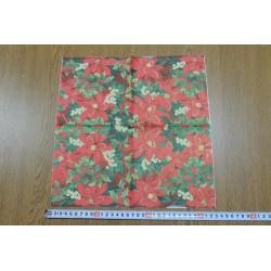 Салфетка FL029 Красные цветы