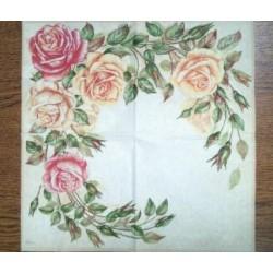 Салфетка FL032 Венок из роз